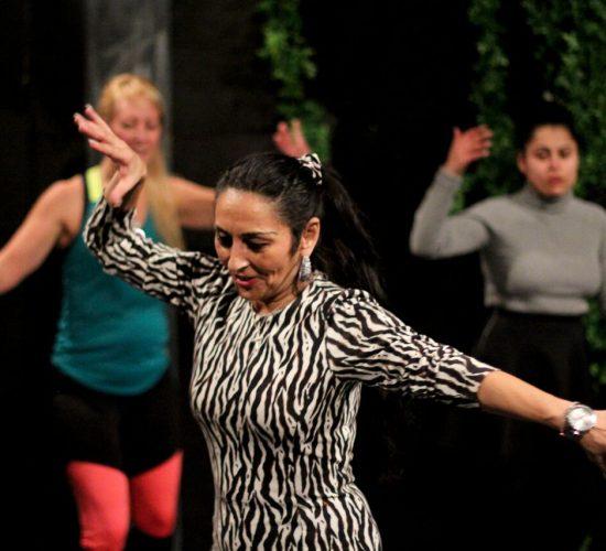 Romsk dans för Katitzi-ensemblen